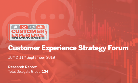 Download Customer Experience Strategy Forum (September 2019) Report